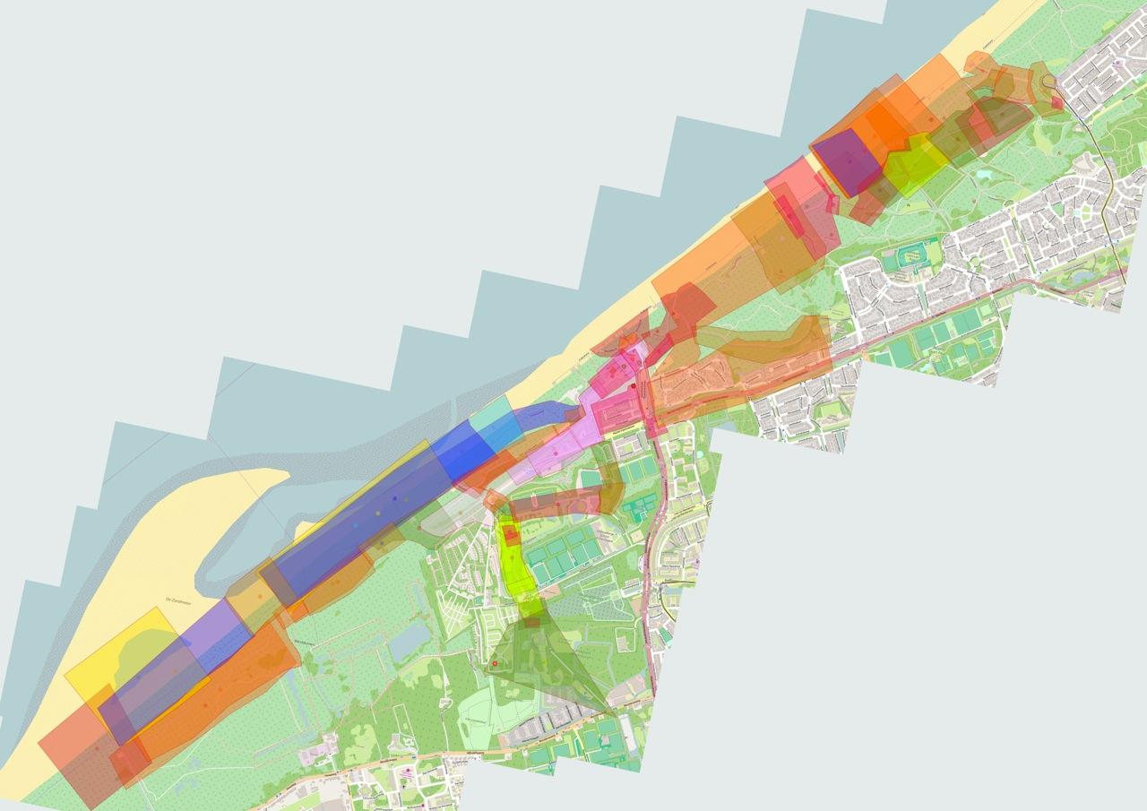 Pedalling SeaSides map