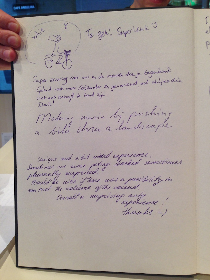 Pedalling Seasides guestbook 06